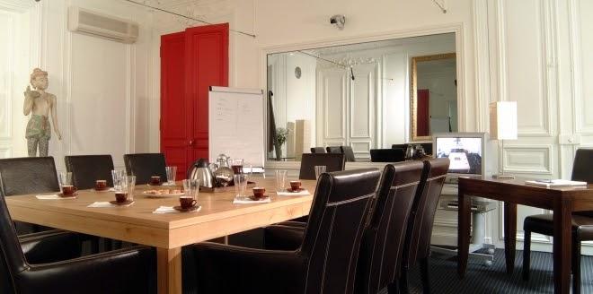 Salle de formation chez le Louvre Focus Group